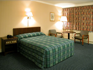 Double room at Aberdeen Britannia
