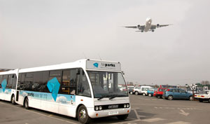 Airparks Birmingham Bus and Plane