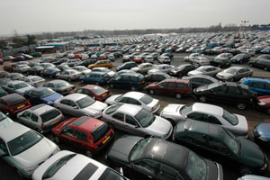 Airparks Birmingham Parked Cars