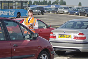 Airparks Staff in Car Park