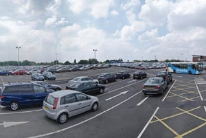 Airparks Car Park Wide Angle