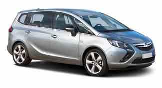 Vauxhall Zafira Rental