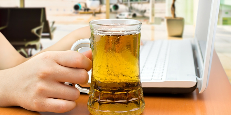 Best airport bars, beer