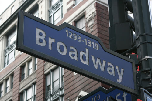 Destinations to see a show, Broadway