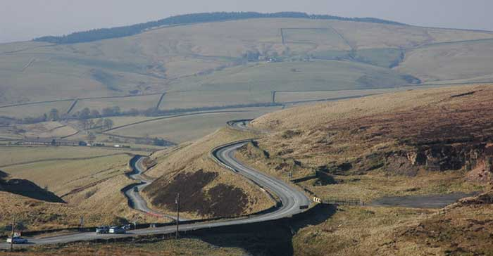 Cat and Fiddle Run, UK