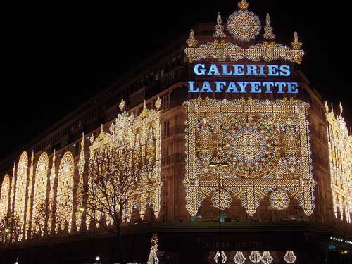 Paris shopping, Galeries Lafayette