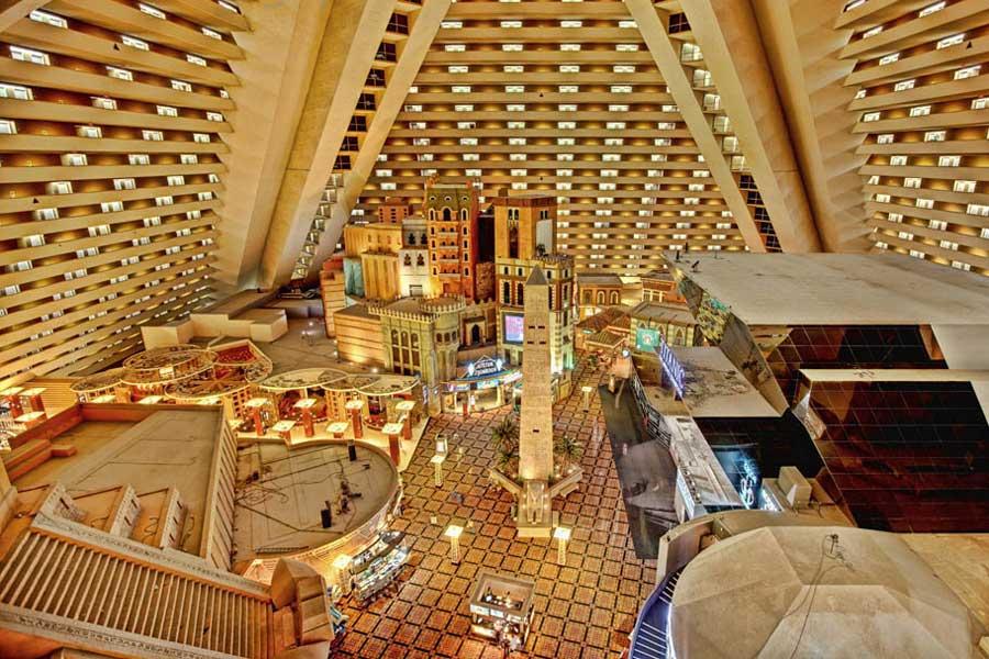 Luxor Hotel Room Photos