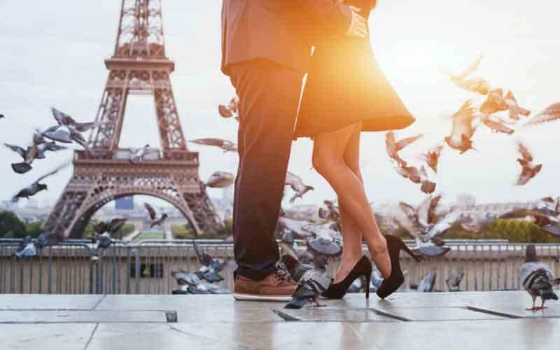 Paris city break.