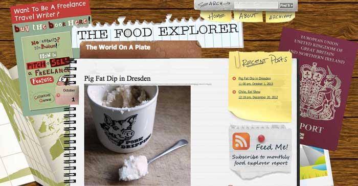 The Food Explorer blog