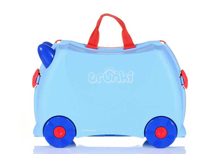 Trunki ride-on luggage