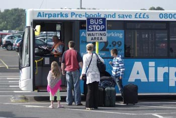 Birmingham Park and Ride with Airparks