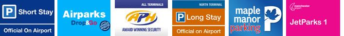 Airport Parking Logos