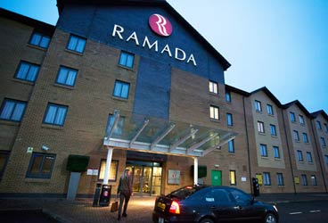 Ramada with parking at Flying Scot