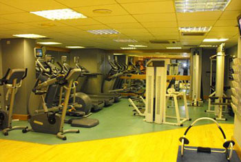 The Erskine Bridge Glasgow airport gym