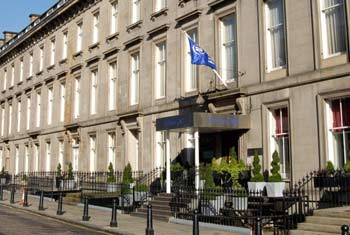 Book a room at the Edinburgh Hilton