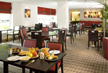 Holiday Inn Express' free breakfast
