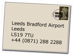 Leeds Bradford airport