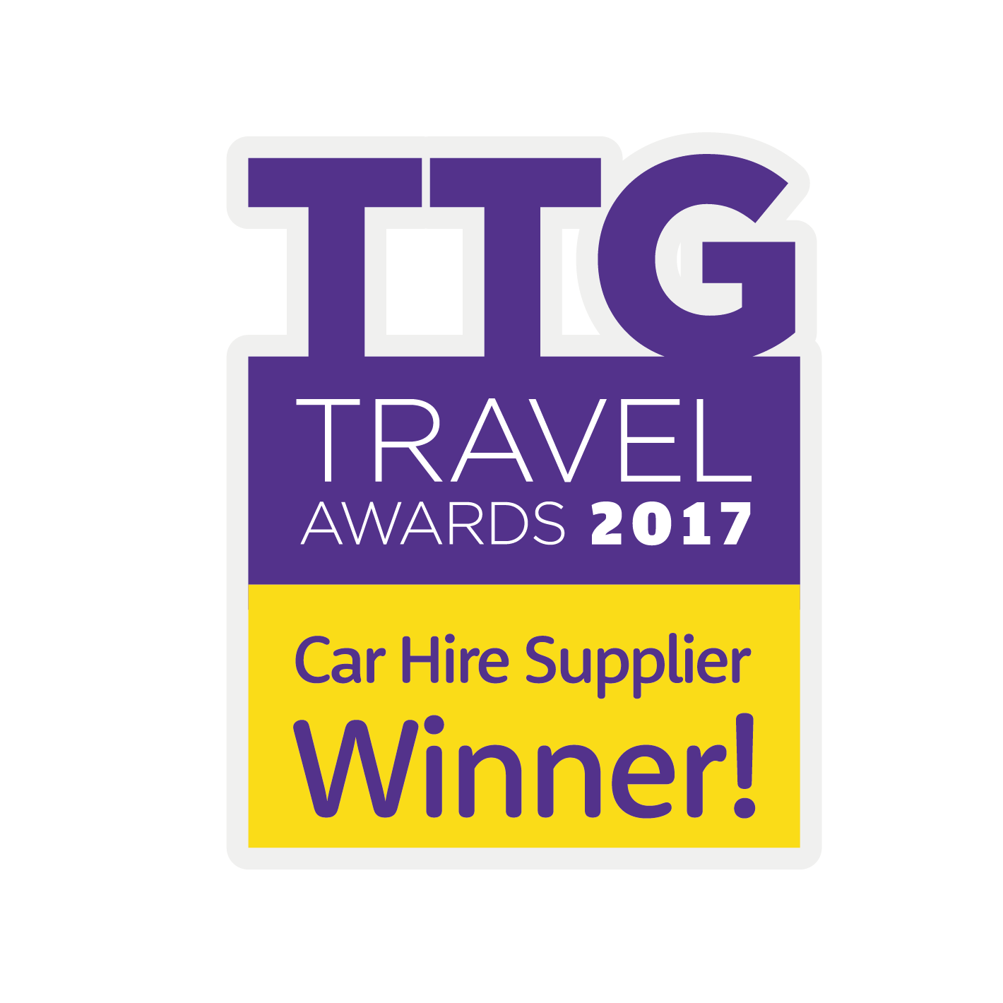 Award winning car hire