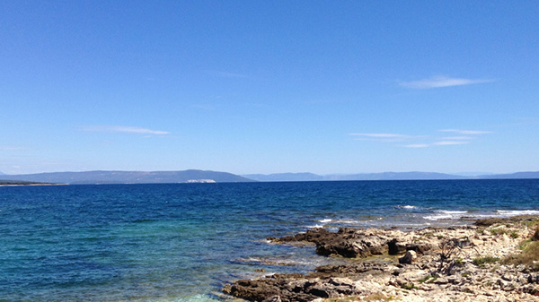 Meer in Kroatien
