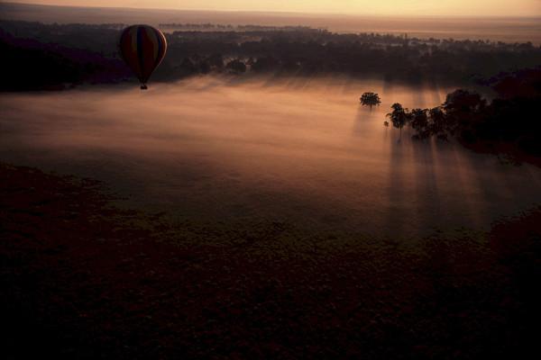 Ballon und Horizont
