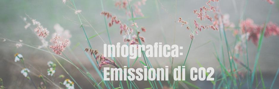 Infografica delle emissioni di CO2?