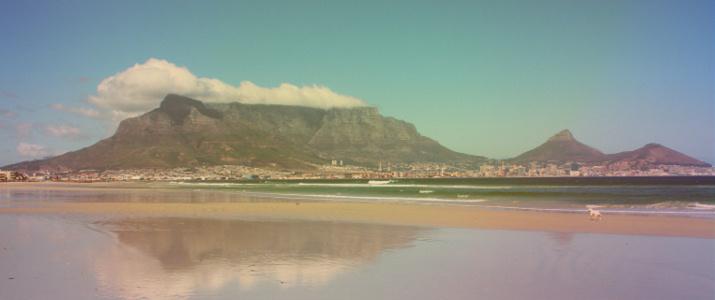 Herrlicher Blick auf Tafelberg