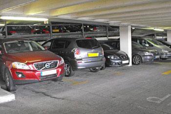 Park undercover at Birmingham airport