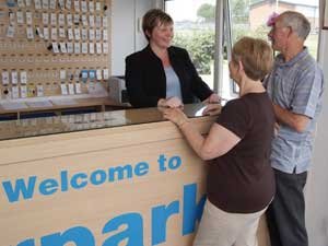 Friendly staff at Airparks East Midlands