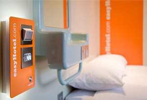 Stay at the easyHotel at Heathrow airport