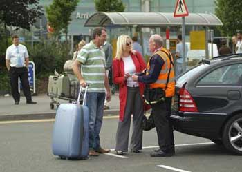 Valet parking at Gatwick airport