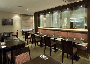 Restaurant at the Premier Inn Manchester airport