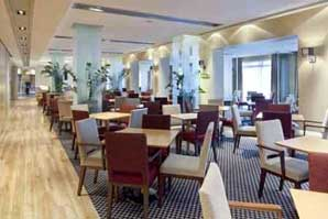 The restaurant at the Holiday Inn Express Southampton M27 junction 7