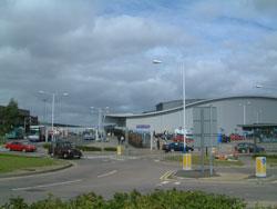 Luton airport terminal