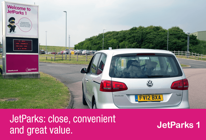 East Midlands Car Parking Jetparks